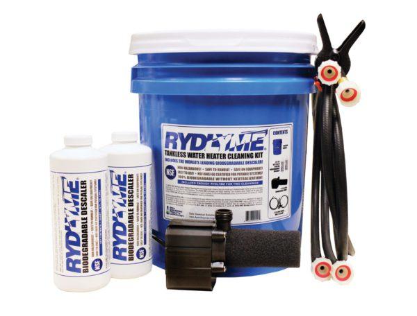 Tankless Hot-Water Descaling Kit RTK