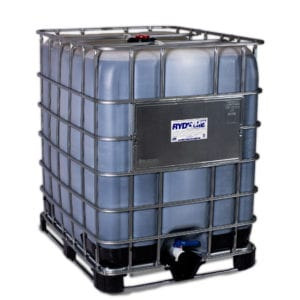RYDLYME Biodegradable Descaler. Product shown in 330 gallon container.