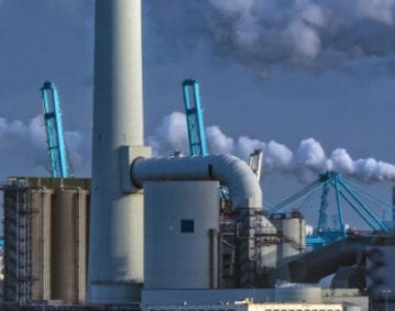 1200MW Power Plant Condenser Case Study. Image of a power plant condenser.