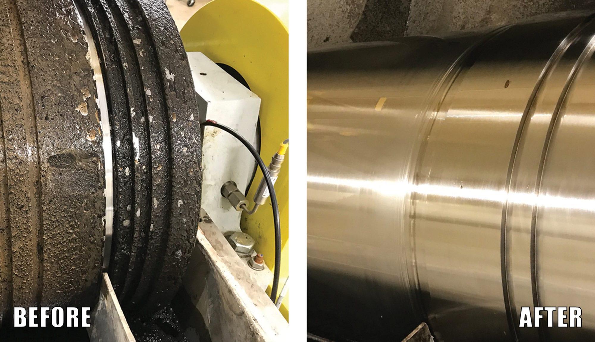 Centrifuge Cleaning of Struvite RYDLYME